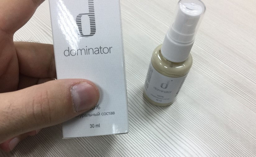 Dominator Spray Erectie