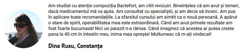 Bactefort Pareri