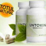 Untoxin Capsule Pentru Detoxifierea Organismului