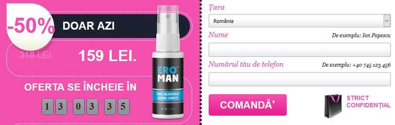 Eroman Spray Comanda