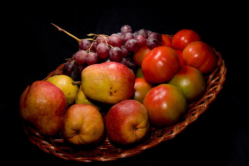 fructe farfurie