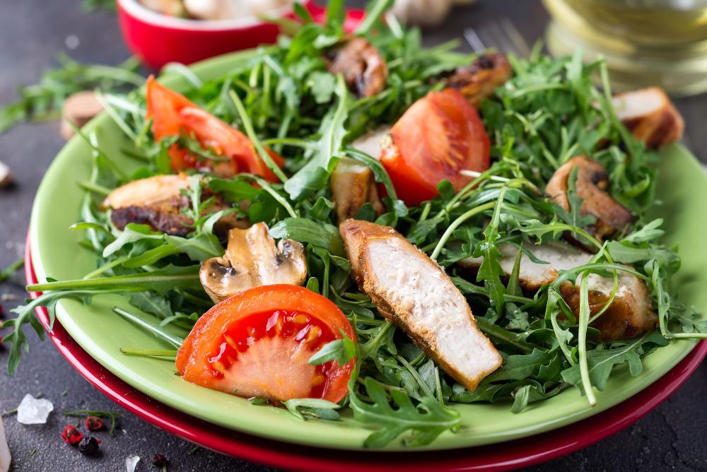 salata putine calorii