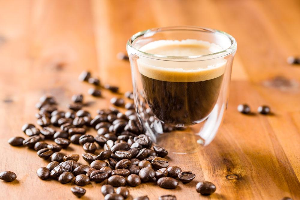 boabe de cafea espresso